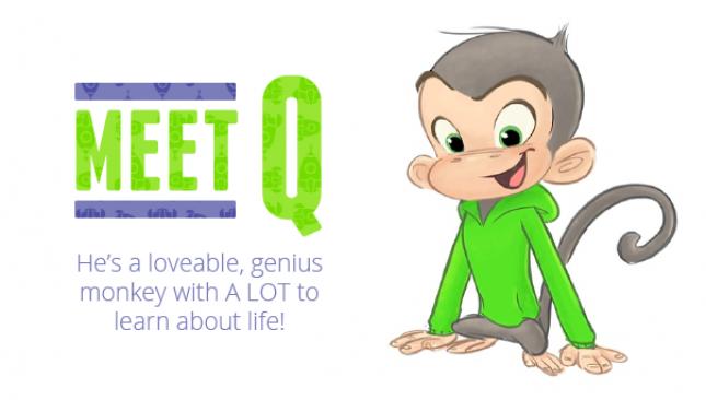 Q, the Q Wunder Monkey.