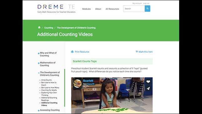 DREME website screenshot