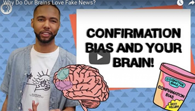 Why Do Our Brains Love Fake News?