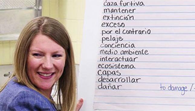 Bridging Content in a Bilingual Classroom