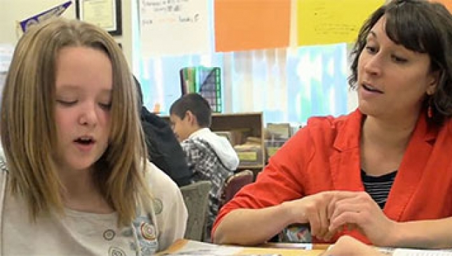 See how one teacher tackles complex informational texts with her students