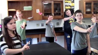 Singing in Science