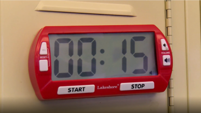 Staying On-Task with a Visible Timer