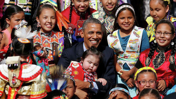 Obama at Standing Rock