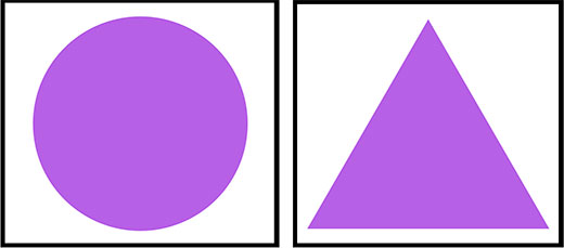 Purple Shapes for Learning