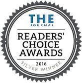 The Journal Reader's Choice Awards 2018 Silver Winner badge