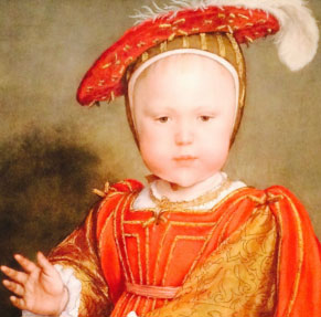 Edward VI as a Child 1538 - Hans Holbein the Younger
