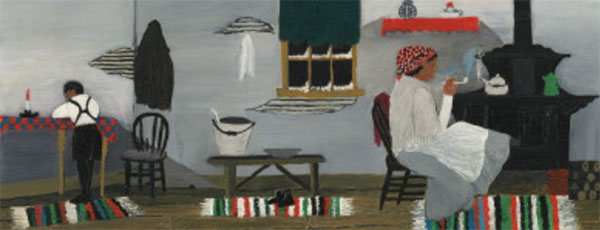Interior 1944 - Horace Pippin