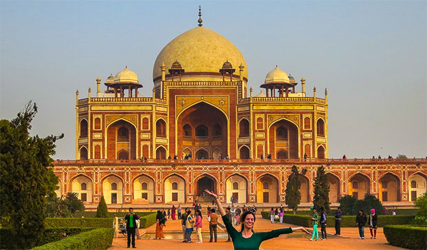 Little Taj Mahal: Humayun's Tomb photo by Lillie Marshall