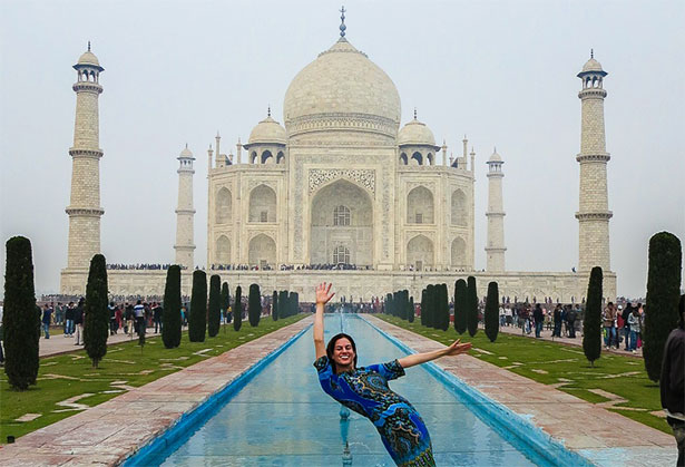 The Taj Mahal by Lillie Marshall